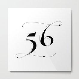 Fifty Six Metal Print