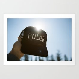 Poler Hat Art Print