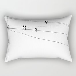 swallows Rectangular Pillow