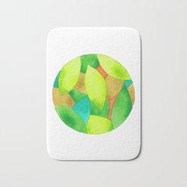 Green ball Bath Mat