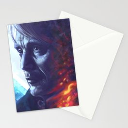 Wounded smoke Stationery Cards