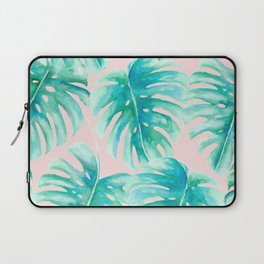 Paradise Palms Blush Laptop Sleeve