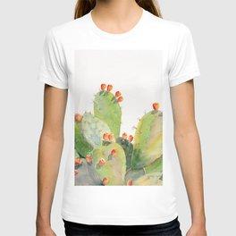 Cactus Watercolor 3 T-shirt
