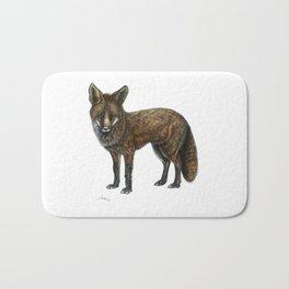 The Red Fox Bath Mat