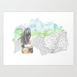 Angel's Rest Art Print