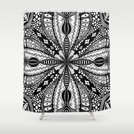 Chaotic Daydream Shower Curtain