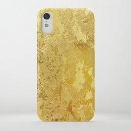 golden vintage iPhone Case