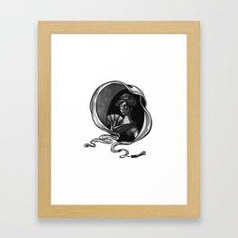 """That Woman."" Framed Art Print"