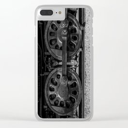 Chocked Clear iPhone Case