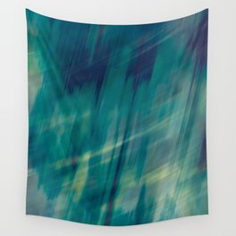 Submerge Aqua Wall Tapestry