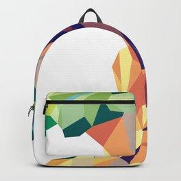 geometric apple Backpack
