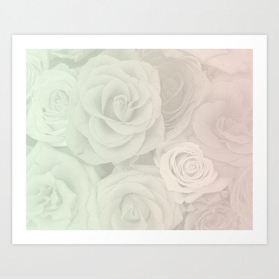 bloom in three steps Art Print