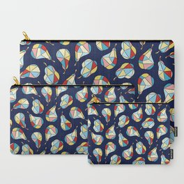 Pear Diamonds Carry-All Pouch