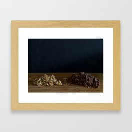 Roughly Chopped Framed Art Print
