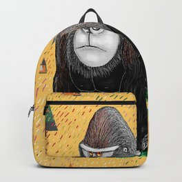 Endangered Rainforest Mountain Gorilla Backpack