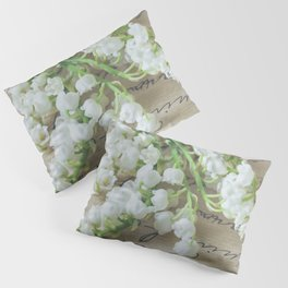 Love letter with lily of the valley Pillow Sham