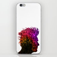 punk iPhone & iPod Skins featuring punk by KrisLeov