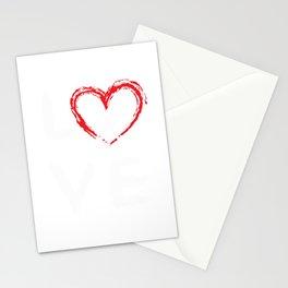 Love Girls Field Hockey print Stationery Cards