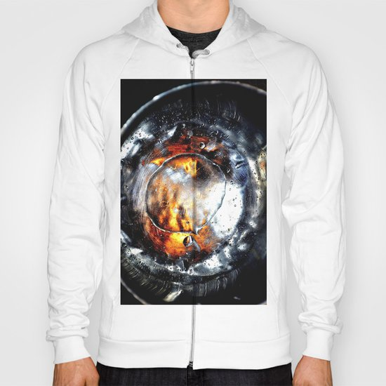 drops  abstract x Hoody