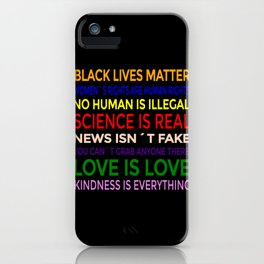BLM-Science is Real 6 iPhone Case