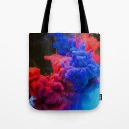 Colorful Smoke Screen Tote Bag