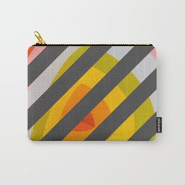 Unleash Color - Rainbow Geometric Pattern Carry-All Pouch
