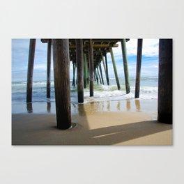 Pier, Too! Canvas Print