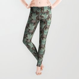 Ornate Armadillo Leggings