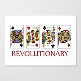 Revolutionary Canvas Print