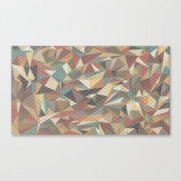 Tri-wangles  Canvas Print