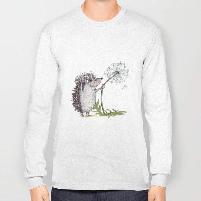 Hedgehog & Dandelion Long Sleeve T-shirt