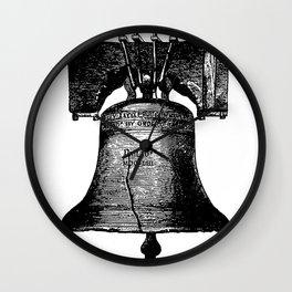 Philadelphia - Put a Bell on It Wall Clock