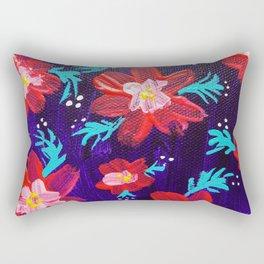 Purple Anna May Rectangular Pillow