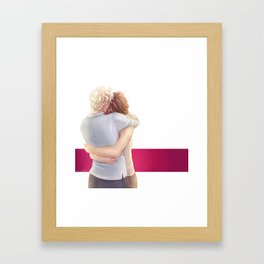 drycah Framed Art Print