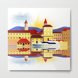 Dalmatia Metal Print