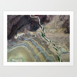 Grand Canyon bird's eye view #3 Art Print