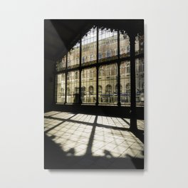 The Train Station Metal Print