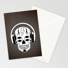 Groovy Skull Stationery Cards