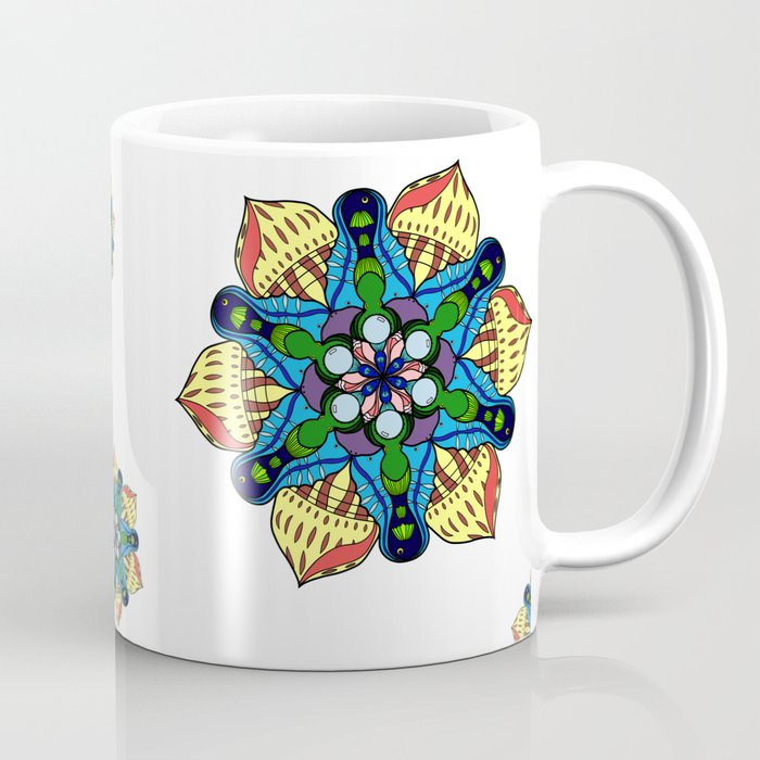Symmetrical Sea Coffee Mug