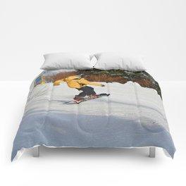 Snowboarding Fool Comforters