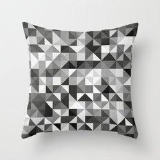 pillow pattern bw #2 Throw Pillow