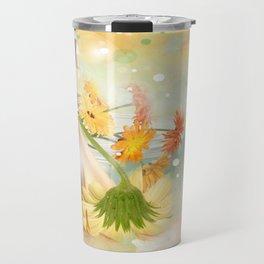 Duft der Blume - farbig Travel Mug