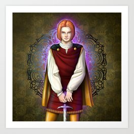 Squire Alan Art Print