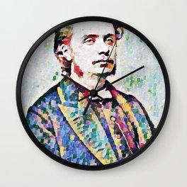 Edvard Grieg (1843 – 1907) digital Wall Clock