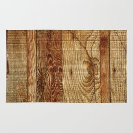 Wood Photography Rug