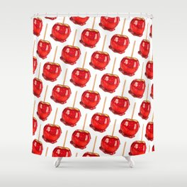 Candy Apple Shower Curtain