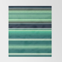 Mexican serape #2 Throw Blanket