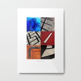 D E S I R E Metal Print