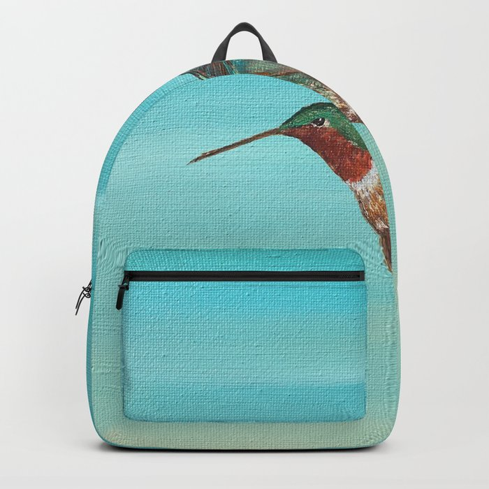 Hummingbird on the Move Backpack