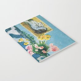 The Plaster Torso - Henri Matisse - Exhibition Poster Notebook